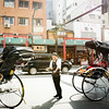 Taxi man at Asukusa Temple district