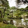 Zen garden at Silver Temple