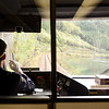 Takayama is high in the mountains and there's a scenic railway to get there