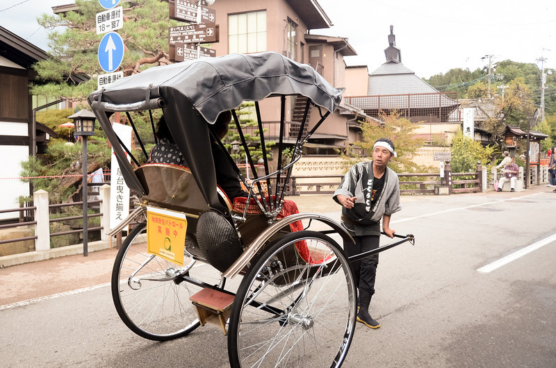 This was our trip to a different Japan: traditional country life and the Takayama autumn festival.  Here's a taxi