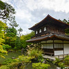 Kyoto is full of temples.  This is the Silver Temple (Ginkakuji) which has a beautiful zen garden