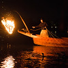 """Cormorant fishing at Inuyama is different and called Ukai.   The fisherman lights a fire in a basket and lets the cormorants (""""U"""") swim on leads and bring back the fish.  It's all great until the birds go on strike"""