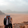 Here we are in Wadi Rum