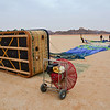 Doing a balloon trip at Wadi Rum