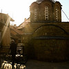 The Serb's churches are behind razor wire and have armed guards...