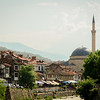 The old Kosovo is more rural, and very Islamic.  This is Prizren which is very much old Kosovo.  It's also been ethnically cleansed of Serbs, with just the burned out shells of their houses left