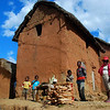 Typical Madagascar highland mud house