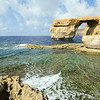 Famous sea arch on Gozo