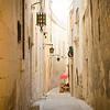 Winding alleys in Mdina