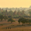 Golden dawn over Bagan