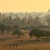Golden dawn over Bagan