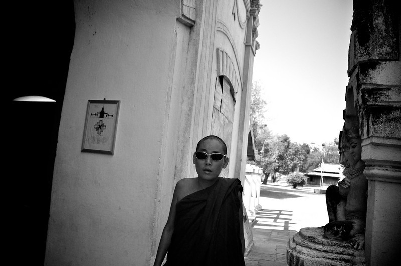 Is he the coolest monk ever?