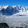 Lobuche range from Kala Pattar