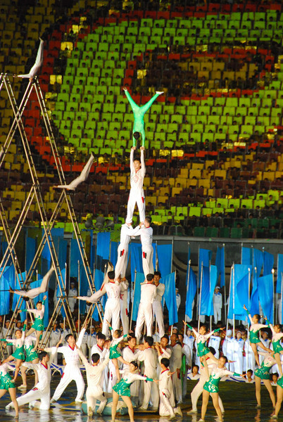 There were amazing acrobats too