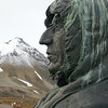 Roald Amundsen.  He used to hang out in Ny Alesund to train for his polar expeditions