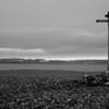 17th century Pomor cross on Krossoya, Nordaustlandet