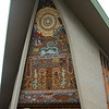 Entrance to the Parliament of PNG.  There was a friendly guide who showed us inside