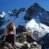 S recuperating at the pass.  Snowy Salkantay behind