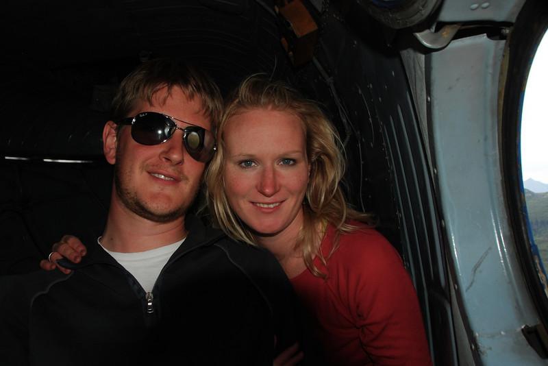 Us in the chopper