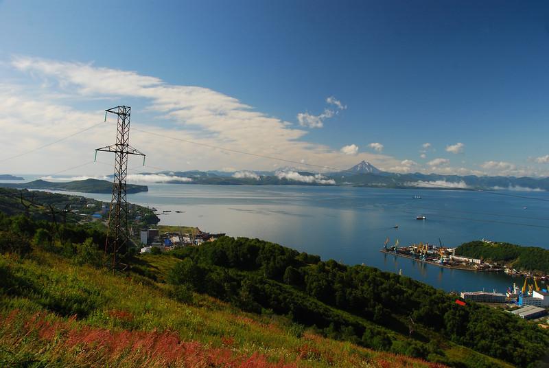 Avacha Bay and Petropavlovsk-Kamchatski