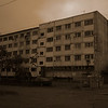 This was a fairly typical soviet era block in Petropavlovsk-Kamchatskii, the regional capital