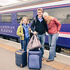 Arriving at Inverness on the Caledonian Sleeper