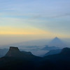 Shadow of Adam's Peak at dawn