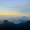 Shadow of Adam's Peak at dawn