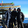 At the top (5,895m asl)