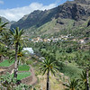 Valle de Gran Rey is a valley full of palms with a nice beach