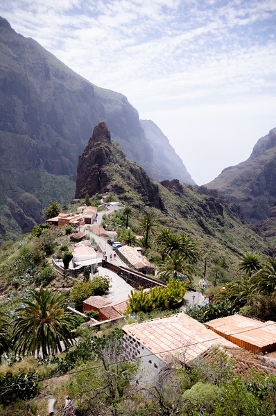 Including Masca which straddles a ridge in the middle of a vast sheer sided valley