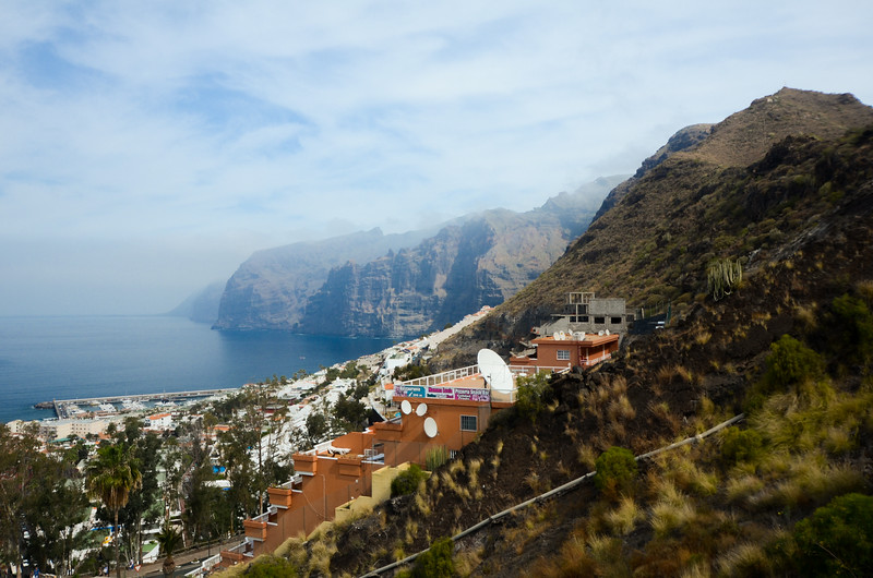 Los Gigantes are vast sea cliffs