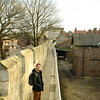 York is surrounded by ancient fortifications to keep Scots and other people out