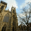 York Minster is very large & very old - about 700 years