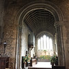 Arch in Holy Trinity Church in Bosham that appears on Bayeux Tapestry in scene when King Harold Godwinson drops in on his home there