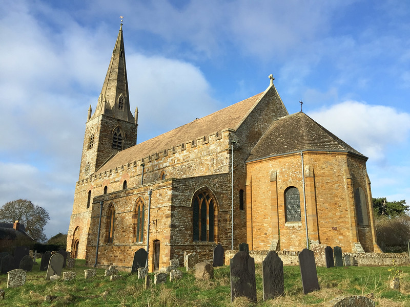 All Saints Church at Brixworth.  Built in 7th-9th centuries & the finest surviving saxon building in UK.  Was it Clovesho?