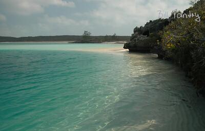 Bahamas, Long Island, Dean's Blue Hole & Turtle Cove