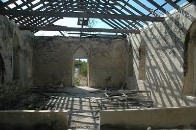 Bahamas, Long Island, ruin