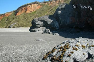 Clam Beach, along Redwood Hwy, California