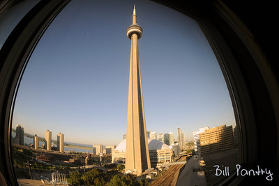 CN Tower from Intercontinental Hotel