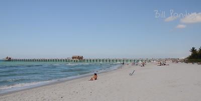 Naples Beach and Pier