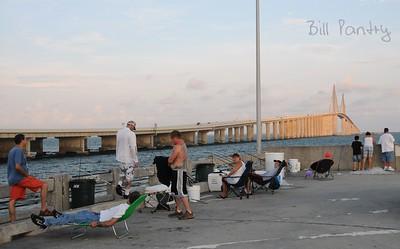 Sunshine Skyway Bridge, North Fishing Pier