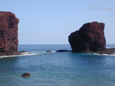 """Puu Pehe """"Sweetheart Rock"""", Manele Bay"""