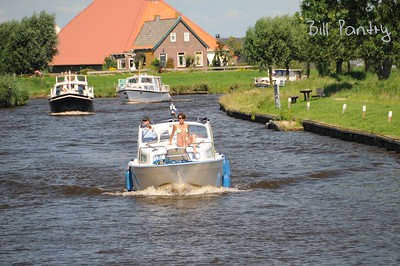 on the water, day four, stop at Ossenzijl