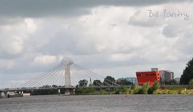 Twistvlietwegbrug, Zwolle, on the water, day three