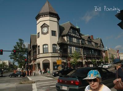 Brookline, Boston. On the way to Oregon - California road trip
