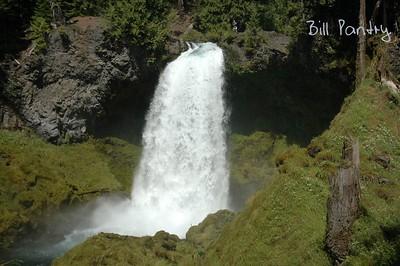 Sahalie Falls, Willamette National Forest, McKenzie Highway