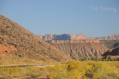 Hwy 9, East of Virgin, Utah