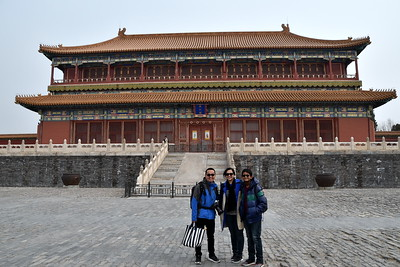 With an estimated area of 180 acres (72 hectares), the palace has 9999.5 rooms.   As I discovered in 2015, the palace is rumoured to have had 9999 rooms so that the emperor (who, in Taoism is the Son of God) could be as close in status as possible to the Celestial Emperor in the North Star (whose palace had 10000 rooms).   When the emperor's favourite concubine used to get sick in the cold Beijing winters, he commissioned the construction of a small, south-facing room for her to keep it warm. Since it was a small room it didn't achieve the status of a full room and that left the total count of rooms at 9999.5.