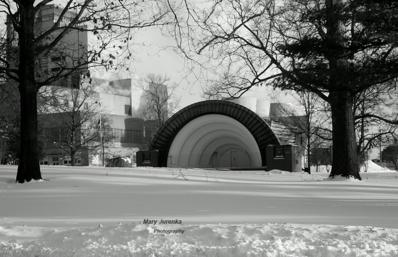 Bandshell Park in Ames, Iowa